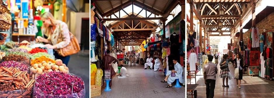 Dubai Popular Markets Capture Hearts Before Pockets