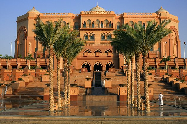 United Arab Emirates, Abu Dhabi, Emirates Palace Hotel