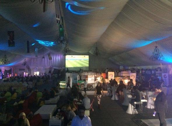 Dubai Media City Tent