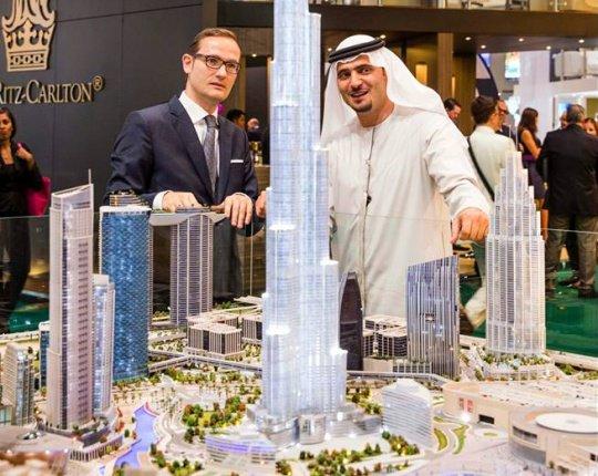 Start of the Arabian Travel Market 2015 in Dubai