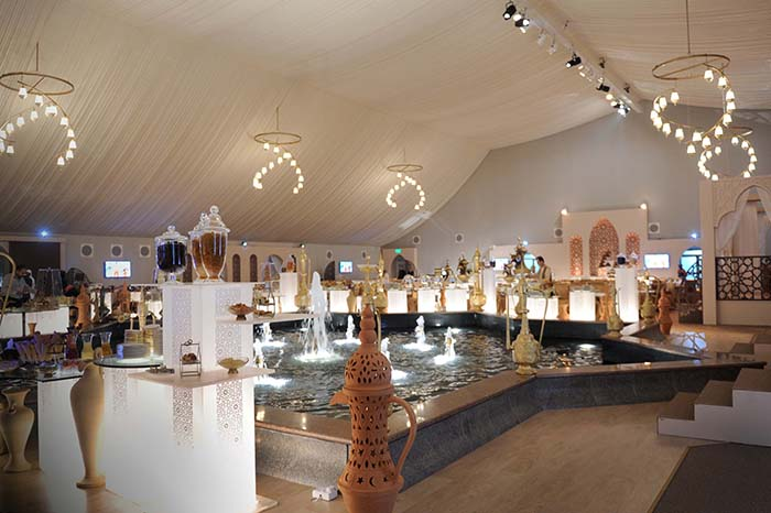 Ramadan Tent at Emirates Palace in Abu Dhabi