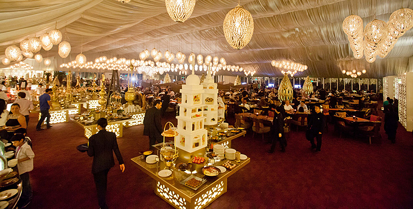 Asateer tent in Atlantis The Palm Hotel