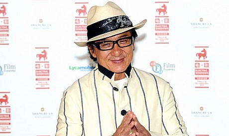 Jackie Chan in Dubai For a new movie