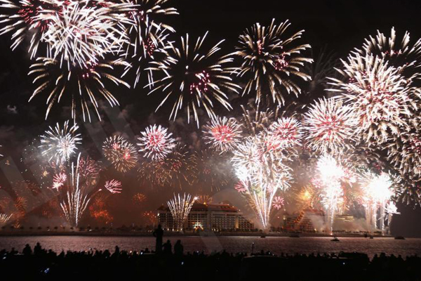 A cruise to New Year's Eve in Dubai