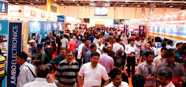 """Opening of the spring session of GITEX Shopper 2015 """"and"""" Smart Shopper Living """"in Dubai"""