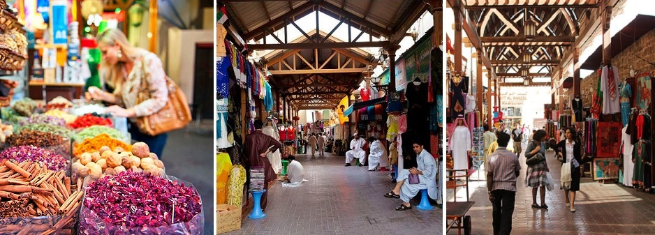 Dubai Popular Markets Capture Hearts Before Pockets
