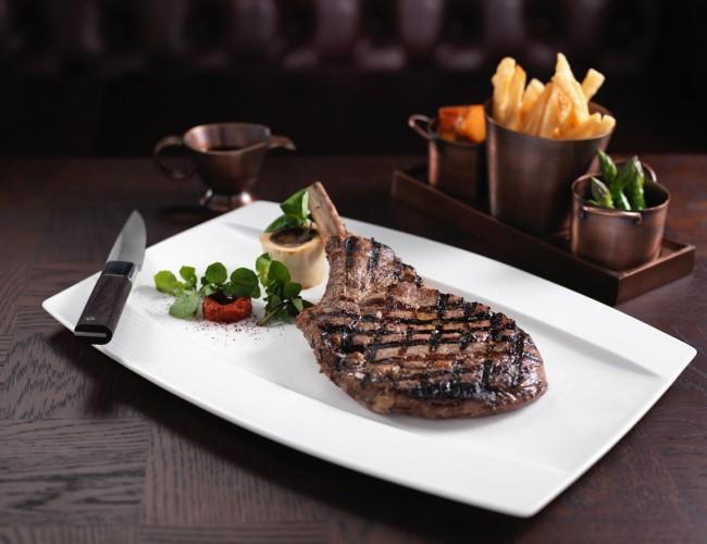 The Rib Room Dubai ...Special Taste Of Steaks