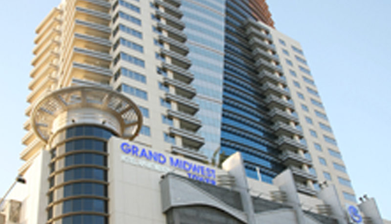 Grand Midwest Tower –Media City - Sheikh Zayed Road