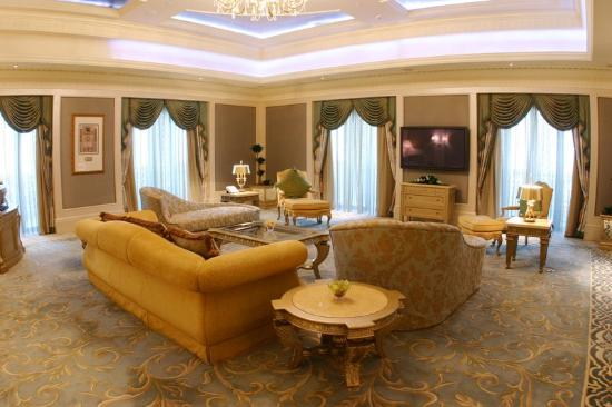 Royal Suite in Emirates Palace