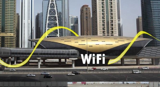Free Wi-Fi in Dubai Metro And Tram