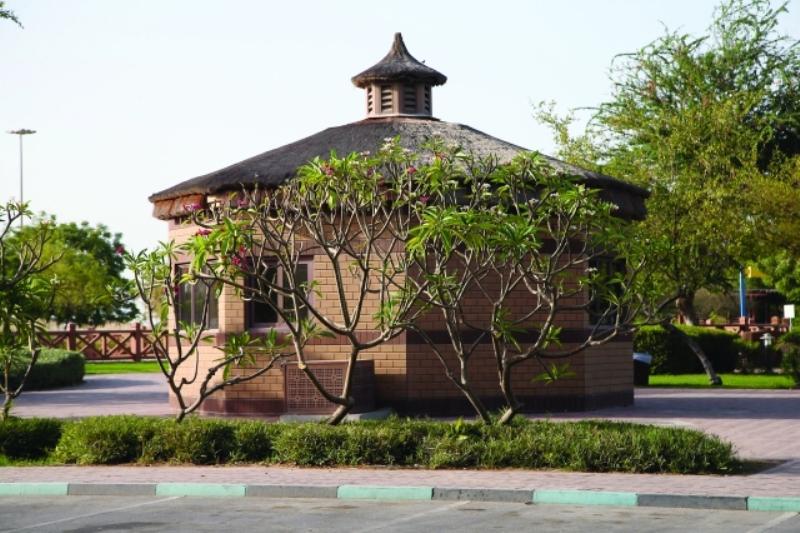 Heritage Park in Abu Dhabi