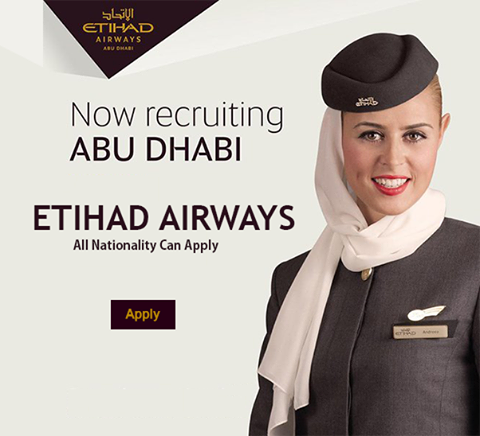 Etihad Airways Jobs And Vacancies This Month